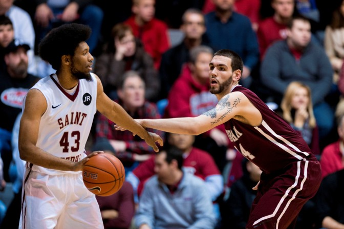 NCAA BASKETBALL: JAN 14 Fordham at Saint Joseph's