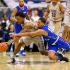 James Akinjo: Big East Rookie of the Year Makes Mark In First Season at Georgetown
